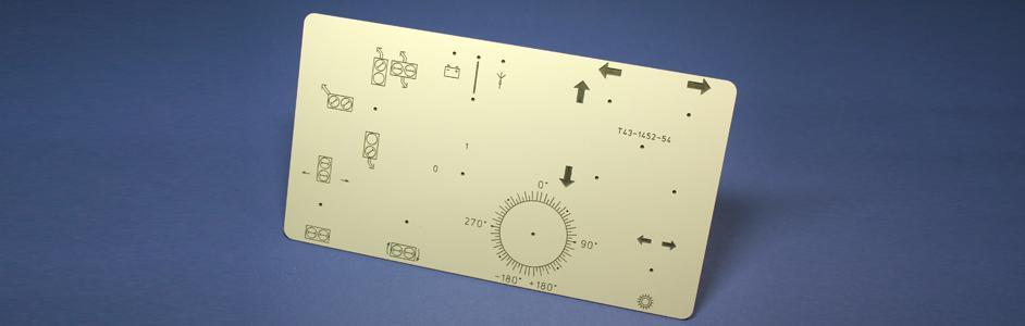 Frontplatte Vakuum